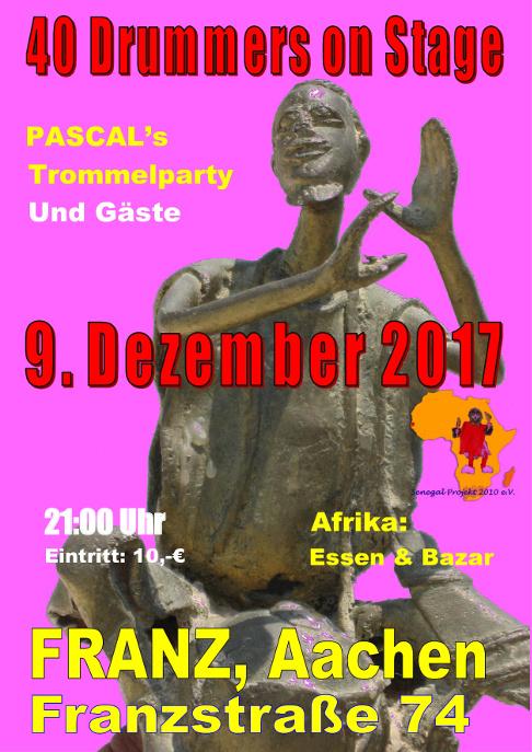 Afrikanische Trommeln in Aachen Event by Salimou